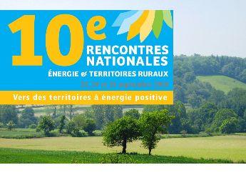"Rencontres nationales </br>« énergie et territoires ruraux """