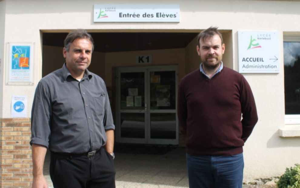In Saint Thuriau, the Kerlebost shool is déveloping agricultural learning