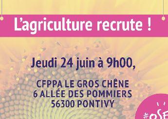 L'agriculture recrute