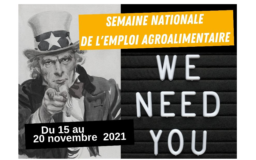 Semaine nationale de l'emploi agroalimentaire
